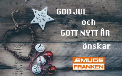 Öppettider under jul och nyår 2019/2020